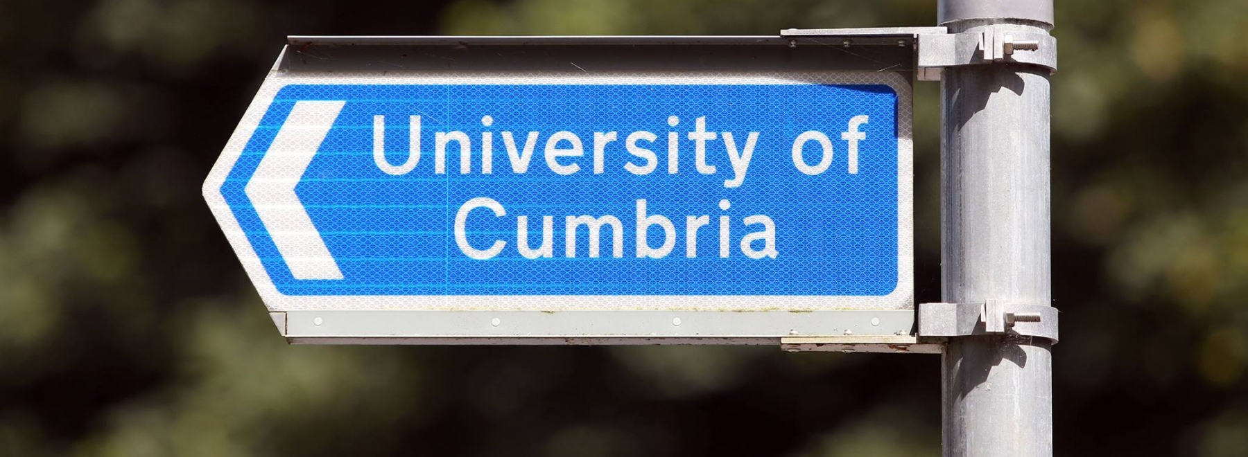 University of Cumbria header