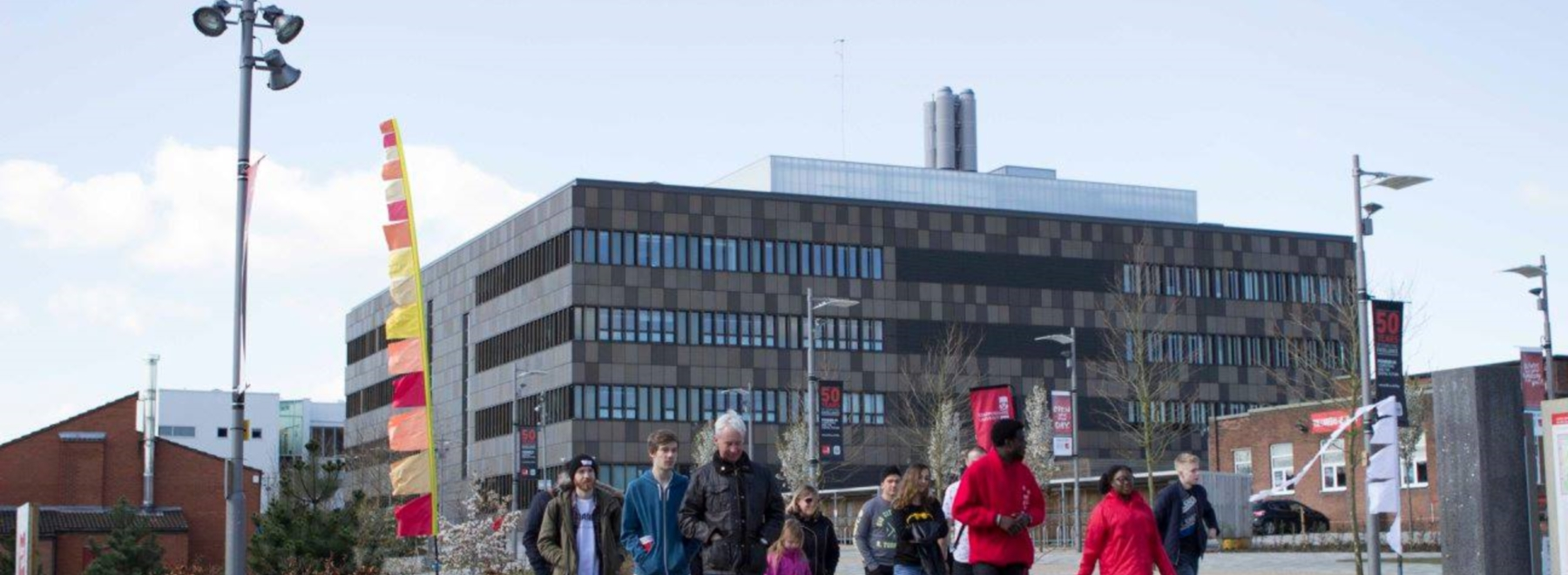 Staffordshire University header