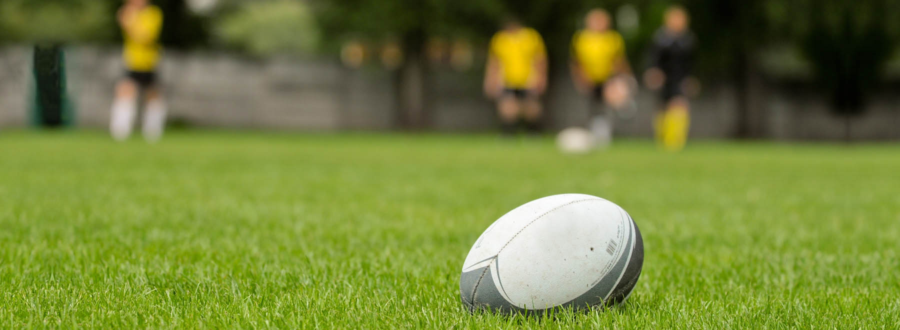 University students playing rugby