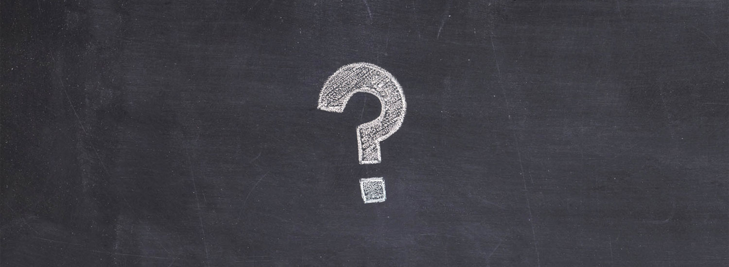 Question mark on blackboard - what is employability?