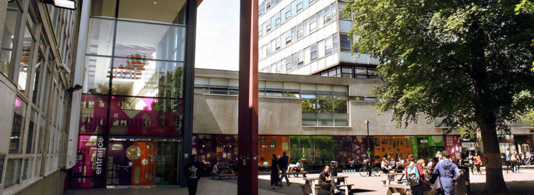 London College of Communication header
