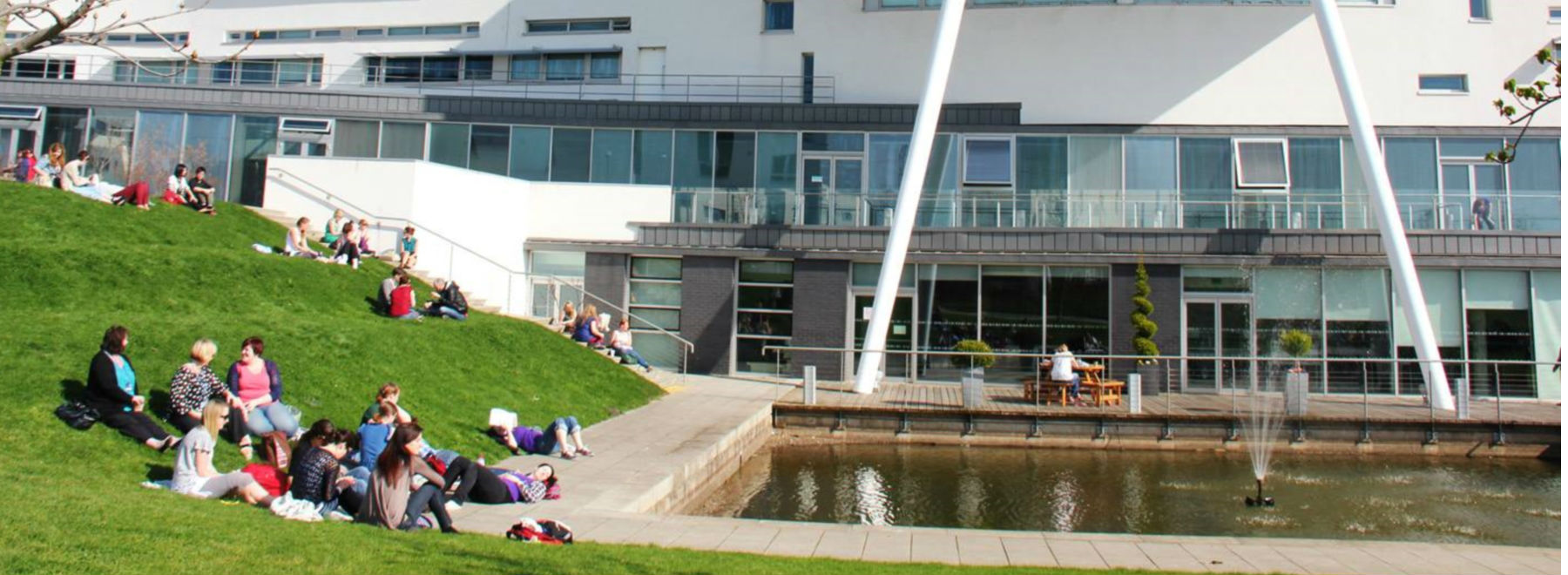 Queen Margaret University header