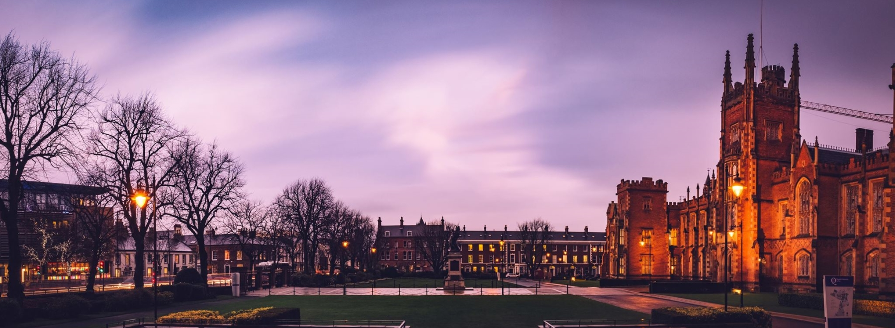 Queen's University Belfast header
