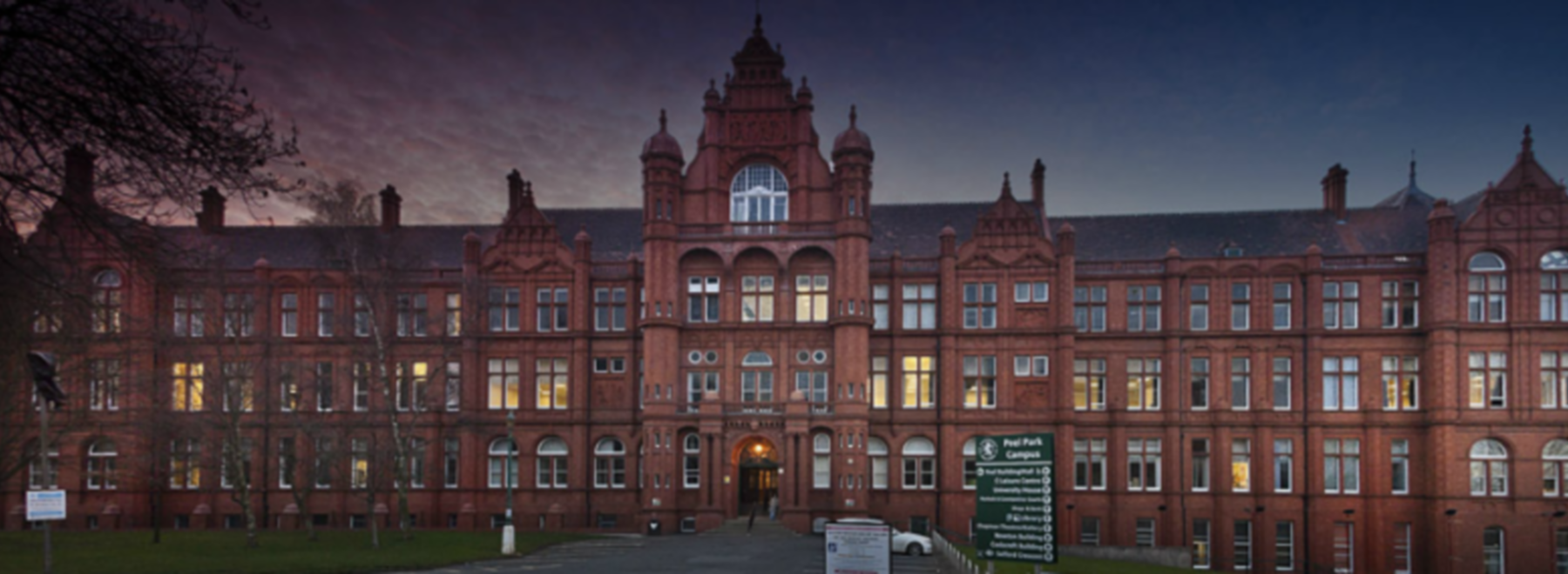 University of Salford header image