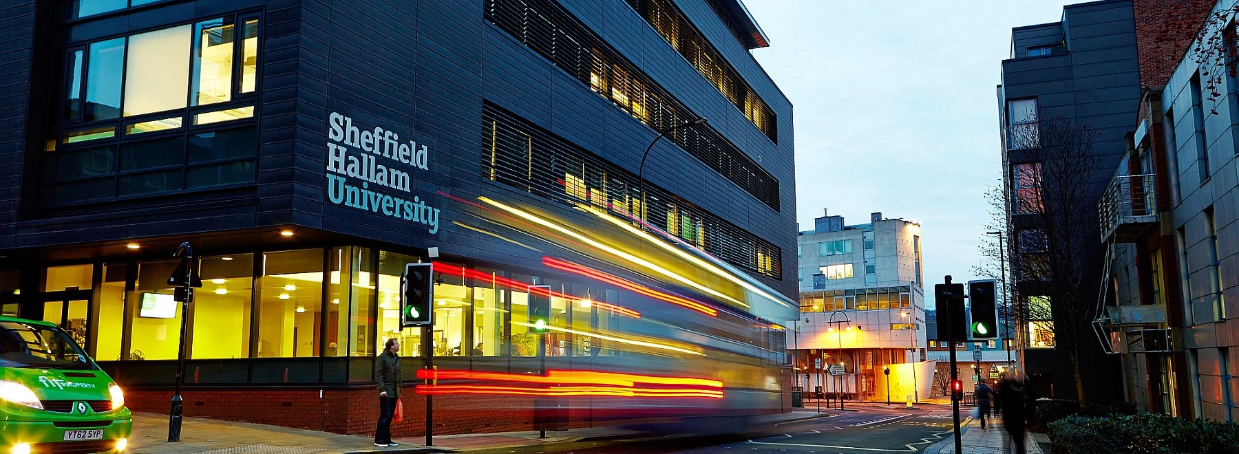 Sheffield Hallam University header