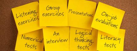 Assessment centres and the on-job evaluations