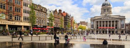 Student cities: studying in Nottingham