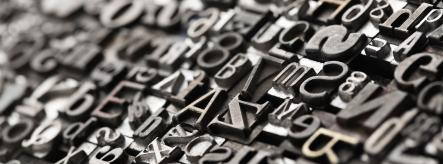 English revision - letterpress printing blocks