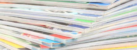 Becoming an editor - image of magazines