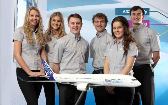 Airbus' young team