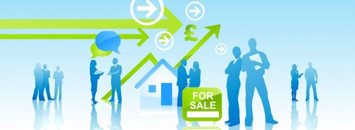 The types of jobs and employers in property
