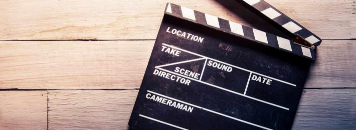 Clapperboard - careers in filmmaking