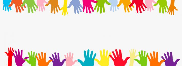 Colourful hands - careers handouts
