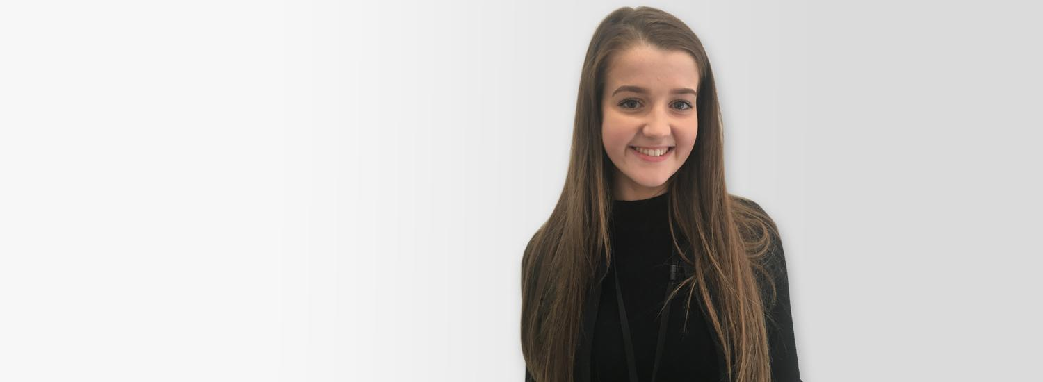 Niamh is studying for an engineering degree and is able to apply what she's learning on real projects straight away.