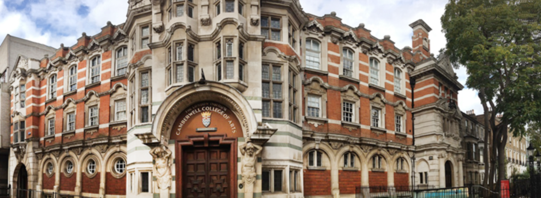 Camberwell College of Arts, University of the Arts London header