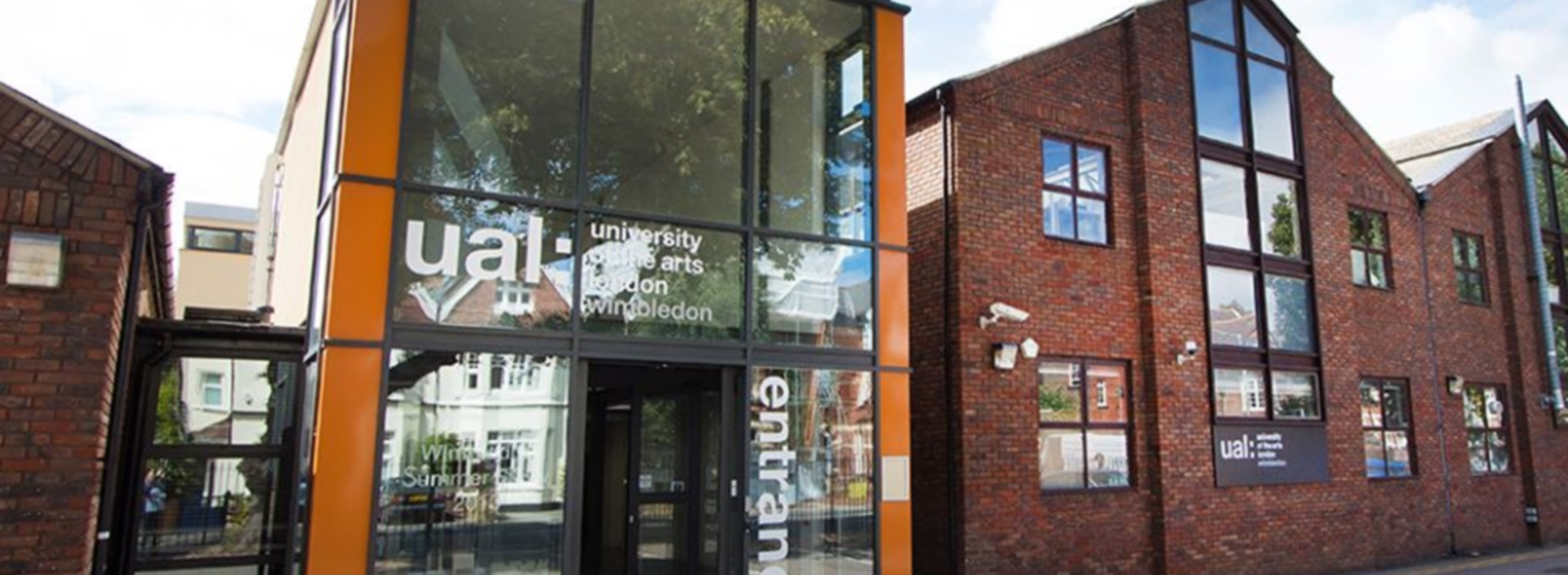Wimbledon College of Arts, University of the Arts London header