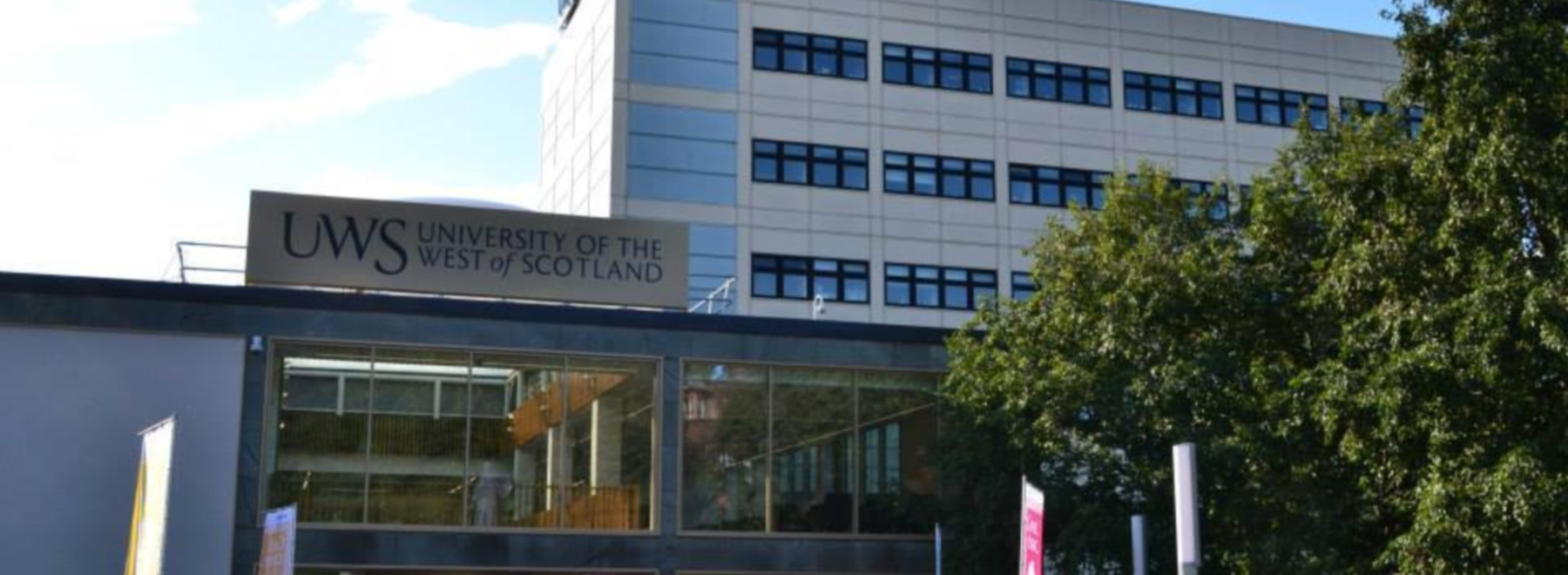 University of the West of Scotland header